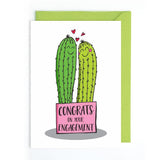 Funky cactus greetings cards UK