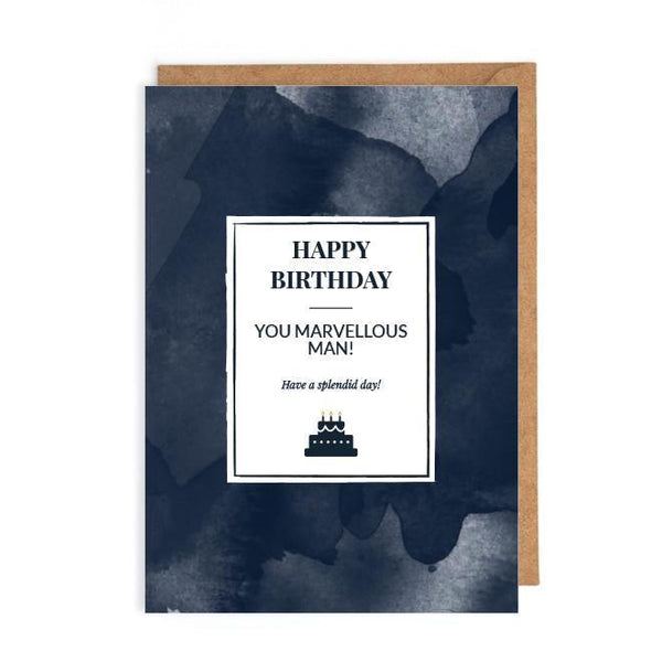 Male birthday cards UK