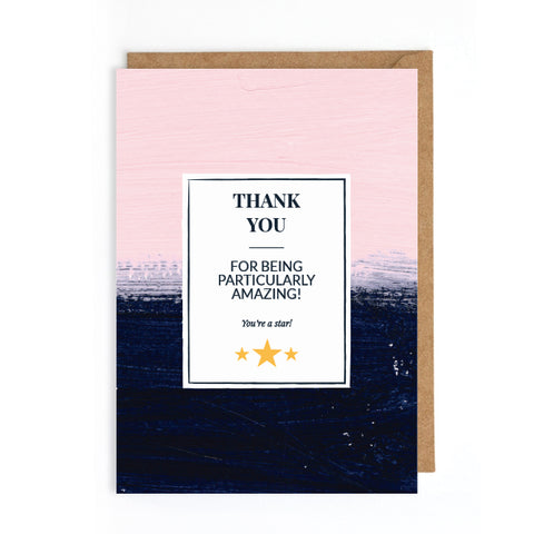 Gorgeous thank you card | UK greetings cards