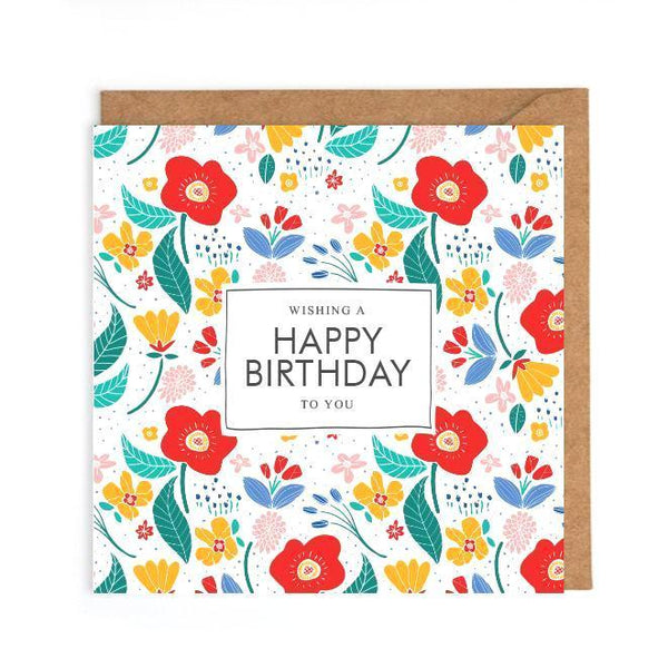 Happy Birthday Card Card UK