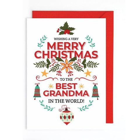 Cute Christmas card UK