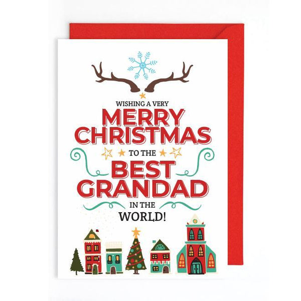 Merry Christmas card UK