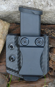 G19/23/26/27 OWB Single Mag Carrier Black Carbon Fiber