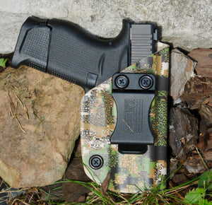 G 43 Inside the Waistband Holster Greenzone Cammo Pattern