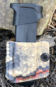 G 43 OWB Single Mag Carrier Hexcam Wasteland