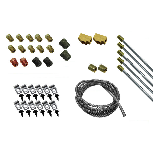 DIY Brake Plumbing Kit With Tube And Hardware OE Steel