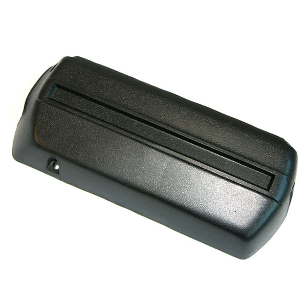 1968-72 Front Arm Rest Base Right Side Black Plastic 1pc