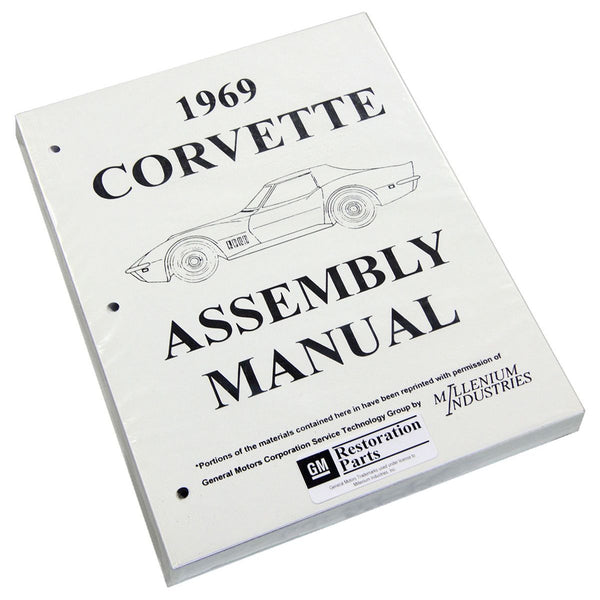 1969 Chevrolet Corvette Factory Assembly Manual