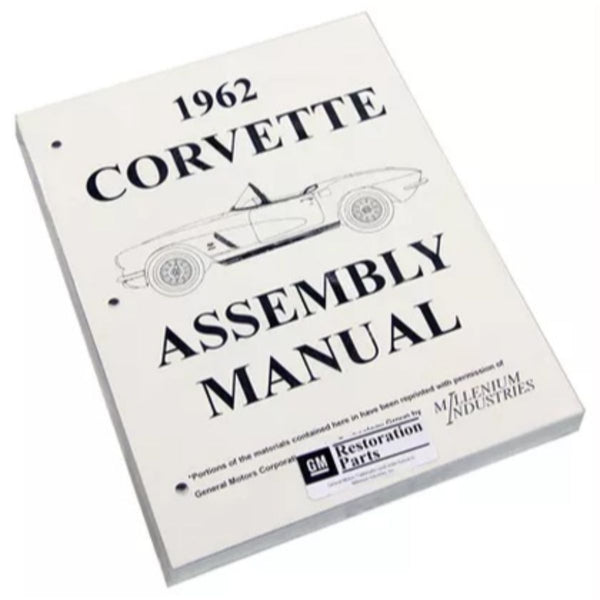 1962 Chevrolet Corvette Factory Assembly Manual