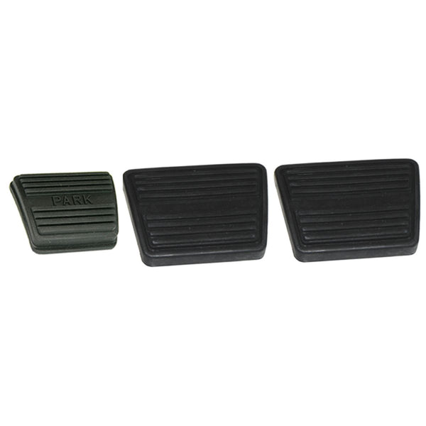 1964-88 GM Manual Trans, Clutch Brake Parking Pad Kit. 3pc