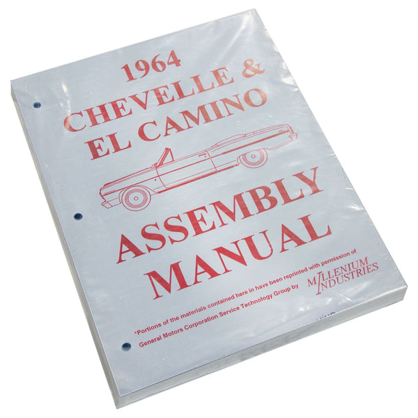 1964 Chevrolet Chevelle El Camino Factory Assembly Manual
