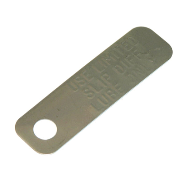 1964-72 GM Rear End Posi Tag Rear End Cover 1pc.