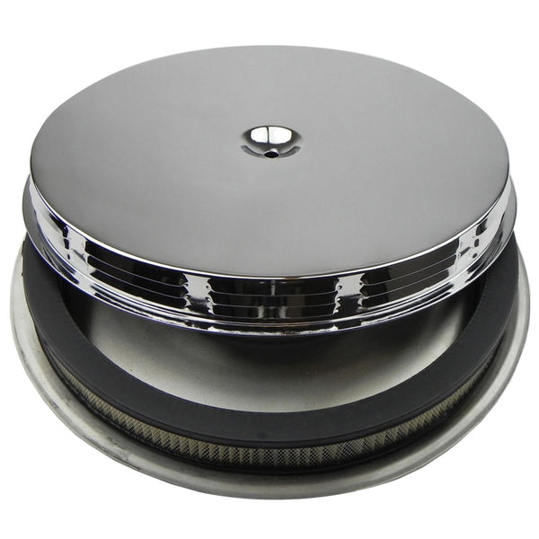 1967 Pontiac GTO Air Cleaner Base, Filter Element, Louvered Top, Air Cleaner Assembly for Q-Jet Carb