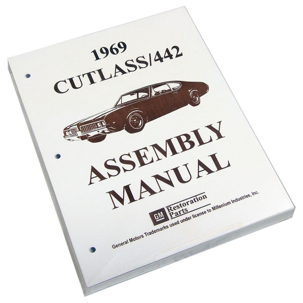 Factory Assembly Manual 1969 Cutlass