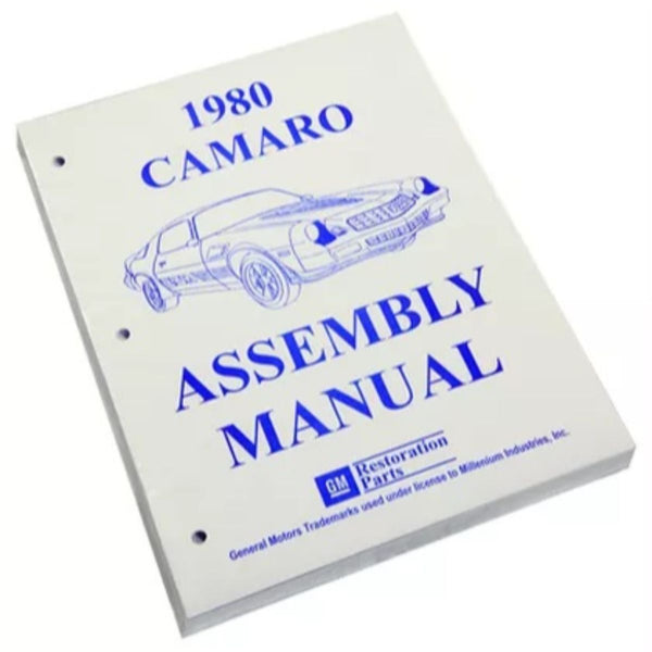 1980 Chevrolet Camaro Factory Assembly Manual