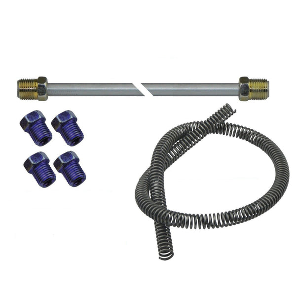DIY Brake Plumbing Kit 1999-07 Chevrolet GMC Truck Rear Axle Line Repair Kit OE Steel