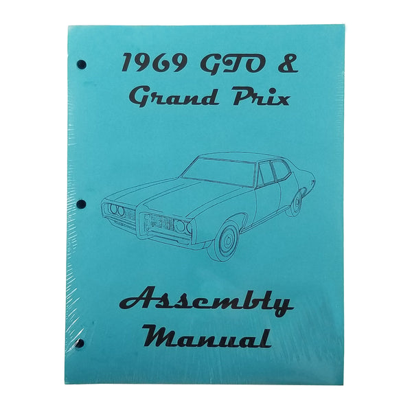 1969 Pontiac Lemans GTO High Quality Factory Assembly Manual