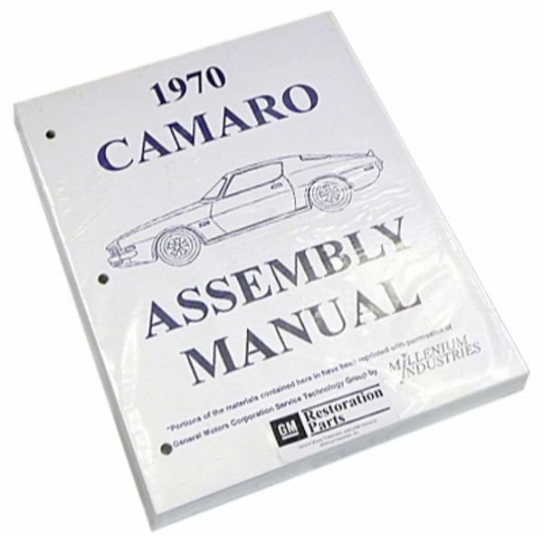 1970 Chevrolet Camaro Factory Assembly Manual