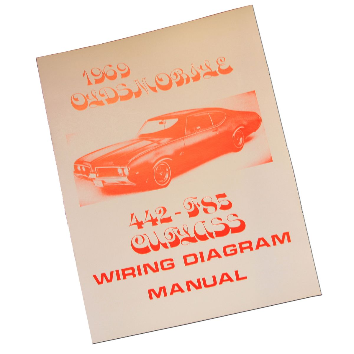 1969 Oldsmobile Cutlass 442 Wiring Diagram Manual Inline Tube