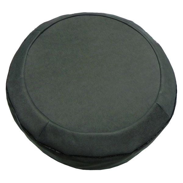 1964-75 GM Spare Tire Cover, Grey/Green Felt, Snug fit with lower elastic band and hard board center section