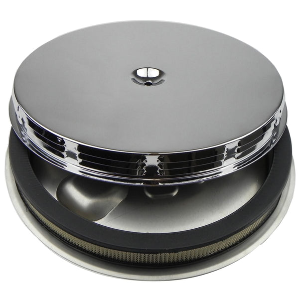 1965-67 Pontiac GTO Air Cleaner Base, Filter Element, Louvered Top, Air Cleaner Assembly for AFB Carb 3pc