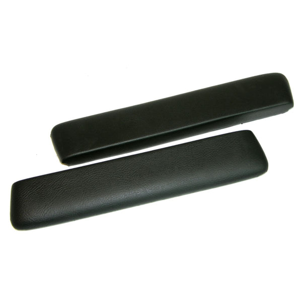 1964-67 GM A-Body Front Arm Rest Pad- Black, Pair