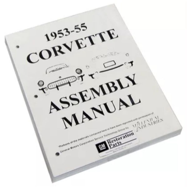 1953-55 Chevrolet Corvette Factory Assembly Manual