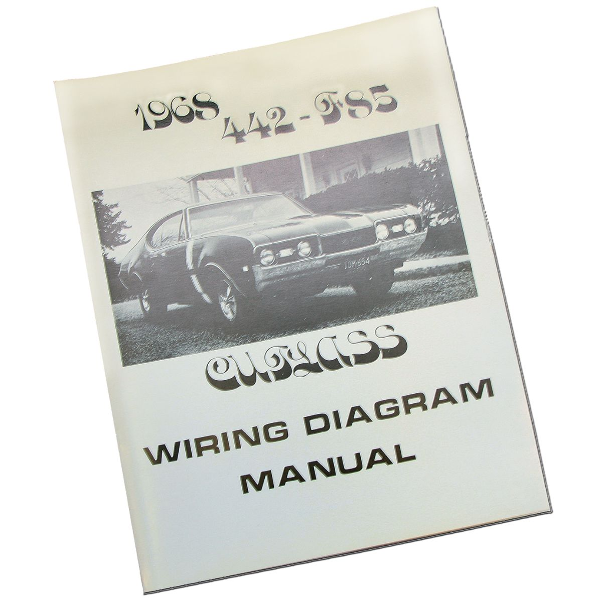 1968 Oldsmobile Cutlass 442 Wiring Diagram Manual 1pc Inline Tube