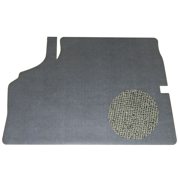 1970 Chevrolet Chevelle Vinyl Trunk Mat Gray And Black Herringbone Felt Backing 1pc