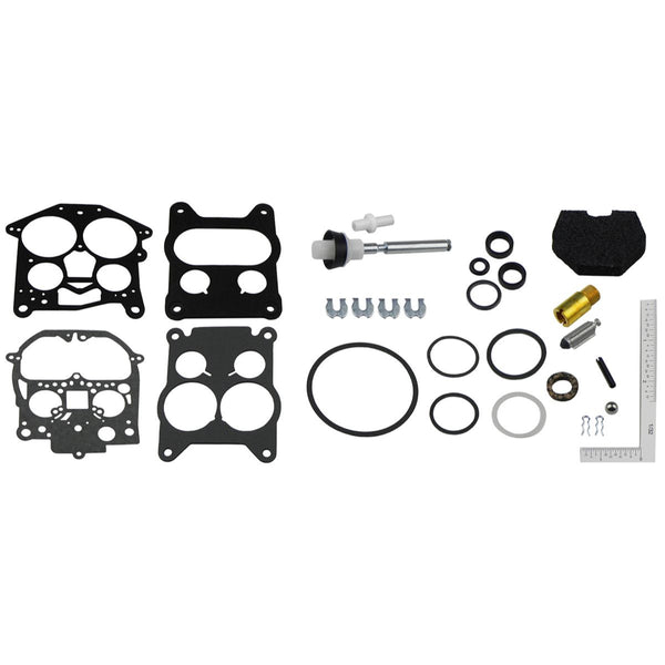 1966-74 Oldsmobile Cutlass 442, 350,400 or 455 CID Rochester 4bbl Carburetor Repair Kit, 28pc