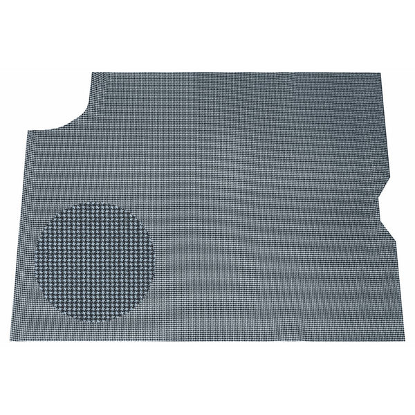 1967 Pontiac GTO, Lemans, Tempest Vinyl Felt Backed Trunk Mat Grey Houndstooth 1pc
