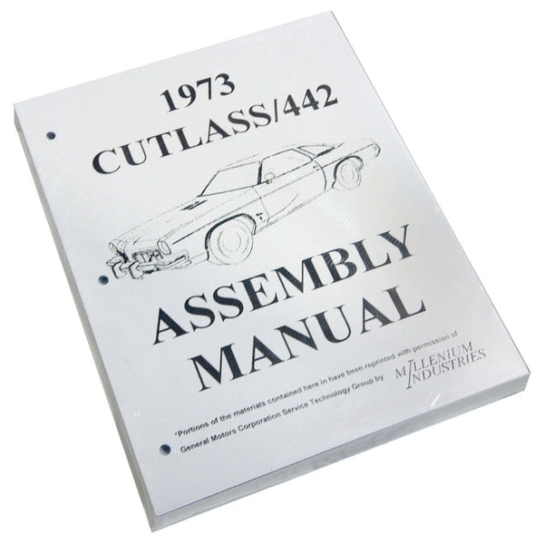 1973 Oldsmobile Cutlass Factory Assembly Manual