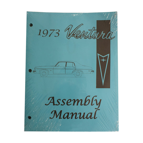 1973 Pontiac Ventura 1974 GTO Factory Assembly Manual