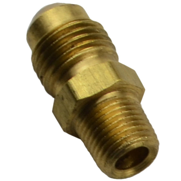 Line Adapter - Male 1/8 NPT to Male 1/2-20, Brass