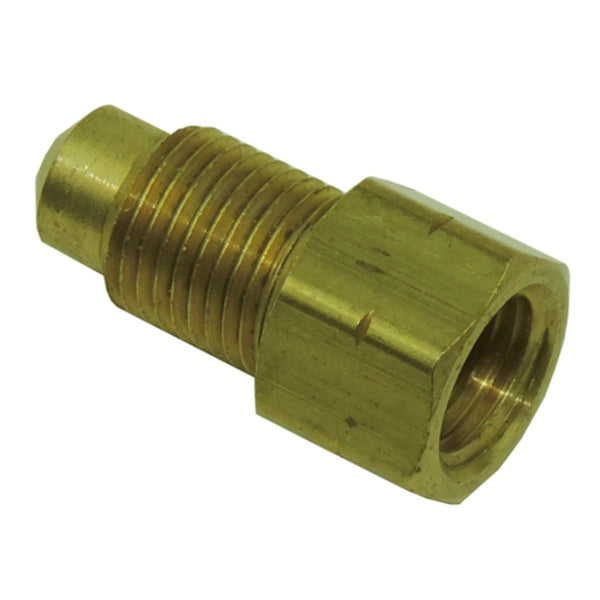 "3/8""-24 female to 10mm by 1.0 male adapter"