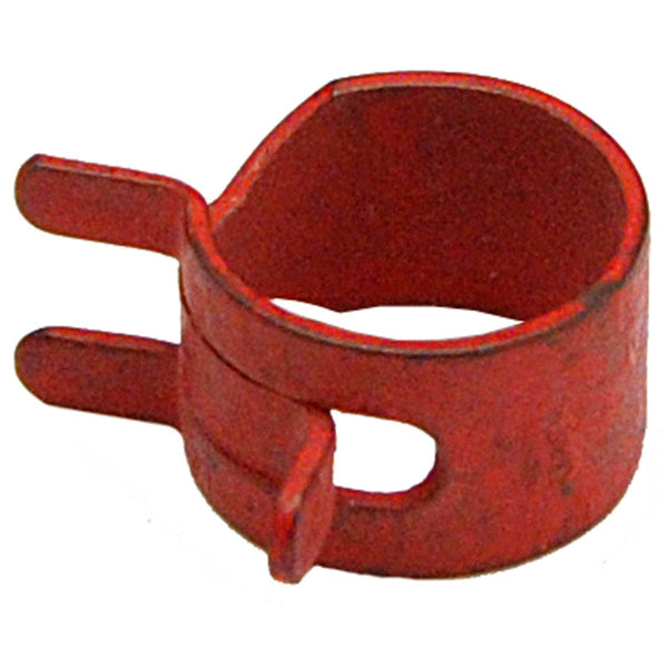 "Fuel Line Pinch Clamp 1/4"" ID Hose Spring Clip Red 1pc"