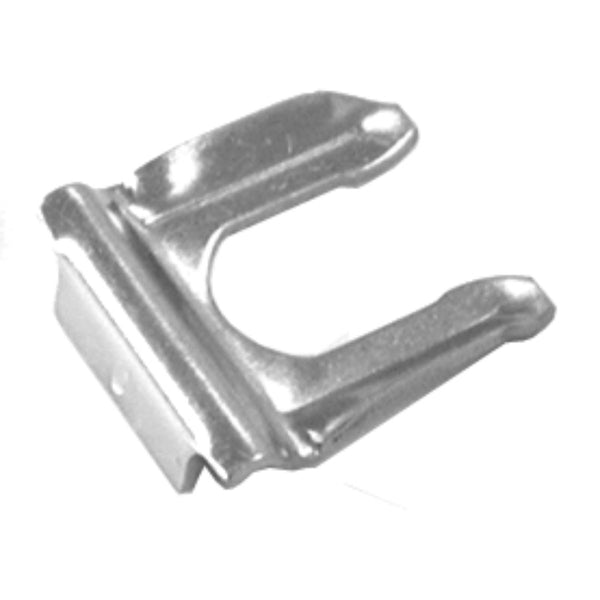 Silver Zinc Plated Flex Hose Clip, Each
