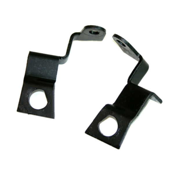 1968 GM A-Body Four-Piston Caliper Disc Brake Hose Brackets At Caliper, Pair