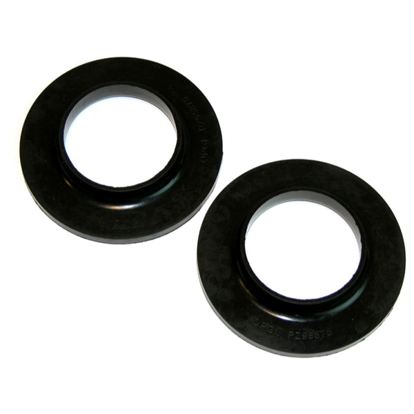 1964-77 GM A-Body Rear Spring Insulator Black Rubber 2pc