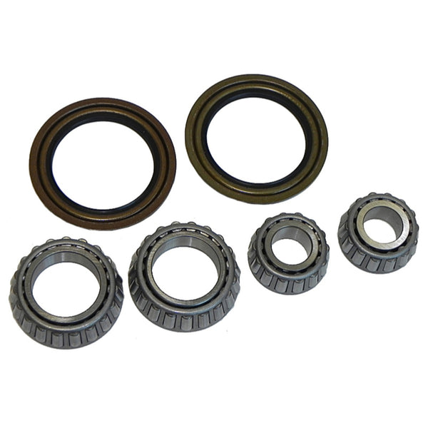 1970-81 GM F-Body X-Body Front Bearings And Seals For Disc Brakes 6pc