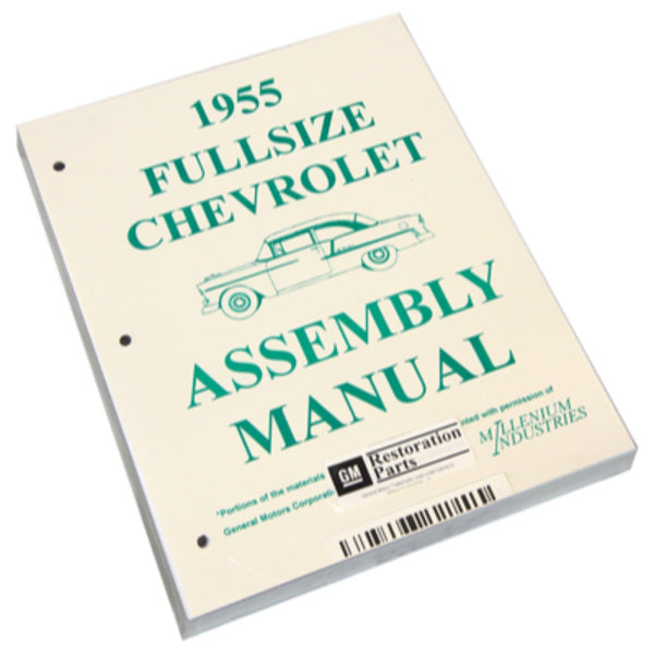 1955 Chevrolet Full Size Car Factory Assembly Manual