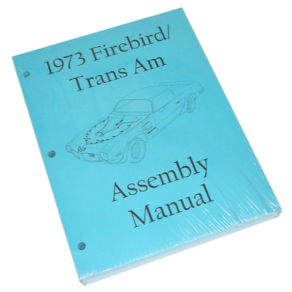 1973 Pontiac Firebird Trans Am Factory Assembly Manual