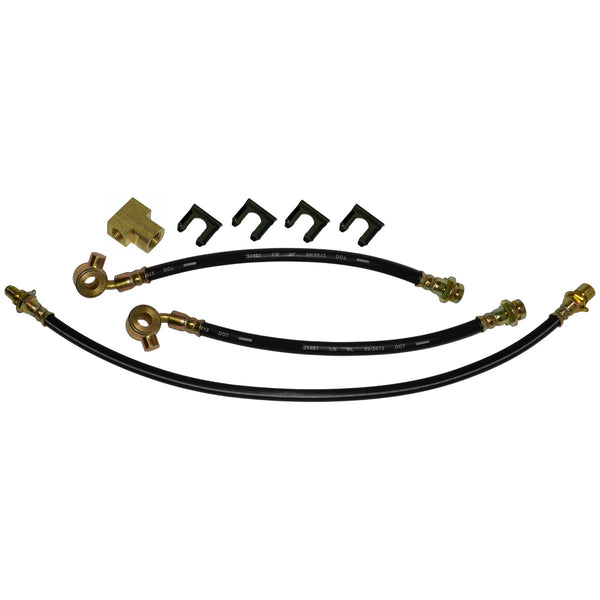1971 Chevrolet GMC Truck, Blazer, Jimmy, Suburban, C10, C20, Coil Rear End, 2wd, Front Disc Rear Drum 3 hose Kit. 8pc