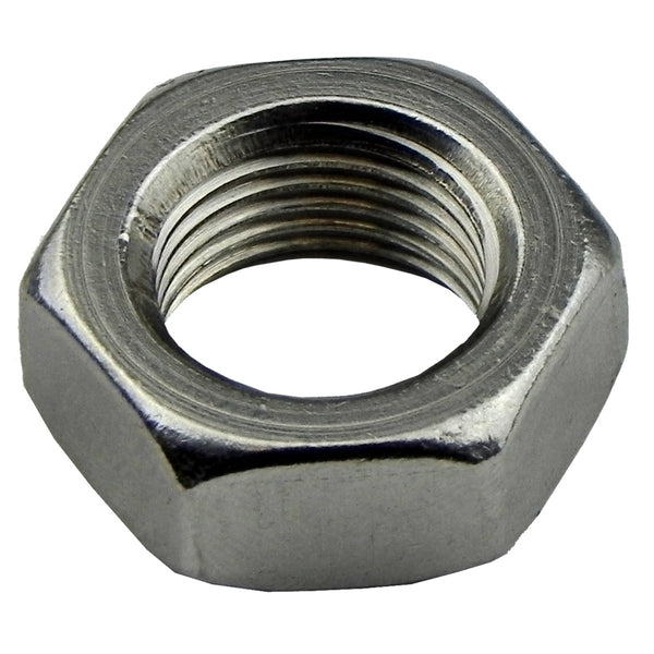 5/18-18 Stainless Steel Jamnut