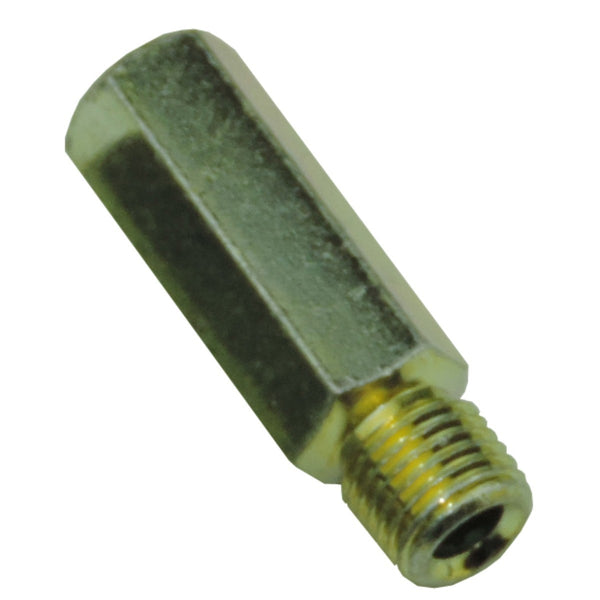 Tube Nut 3/8-24 7/16 Hex For 3/16 Tube Gold