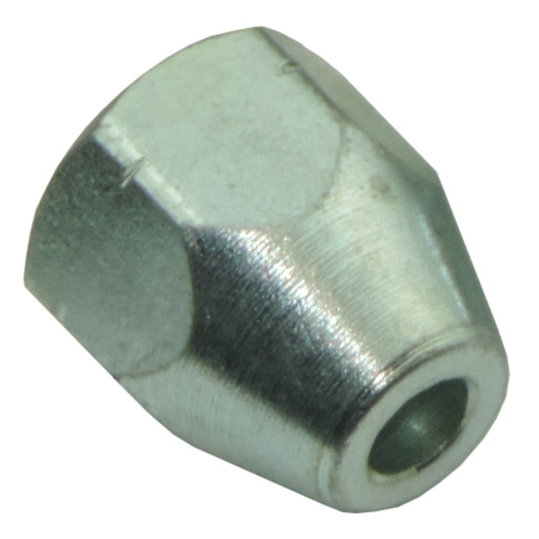 Tube Nut-10mm x 1.0 with 9/16 Hex-Silver