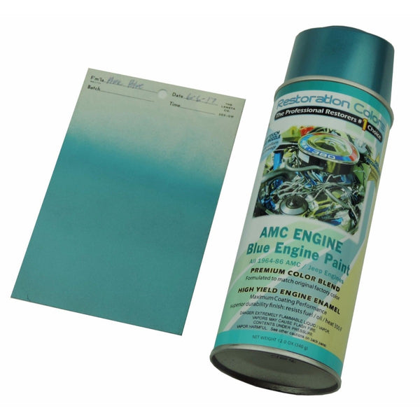 AMC Engine Blue Spray Paint 1pc