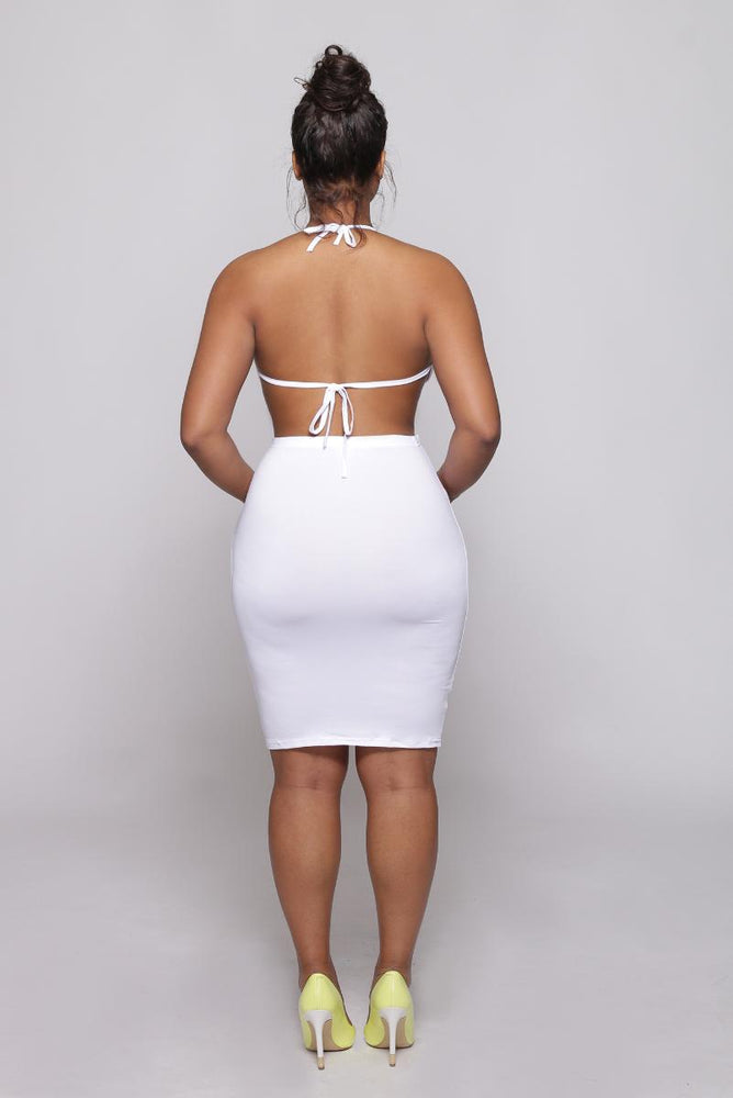 Lucy backless dress