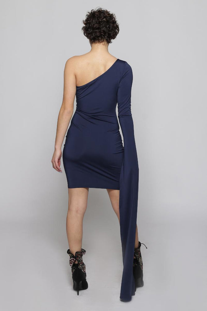 Lyra one sleeve dress