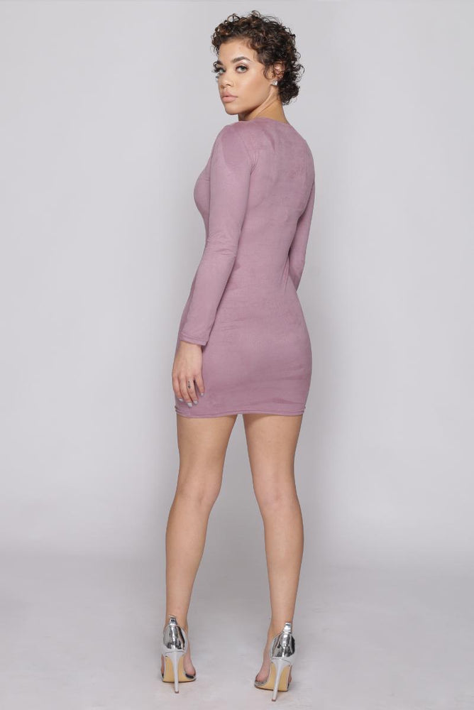 Bailey Suede Mini Dress